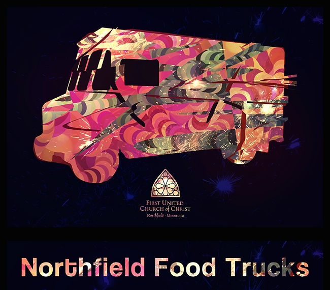 UCC Food truck graphic